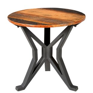 Minerva End Table by Gracie Oaks