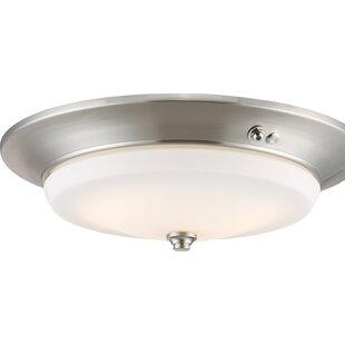 Alcott Hill Bagwell 1-Light LED Flush Mount