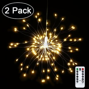 The Party Aisle Starry 0.56 ft. 240-Light Fairy String Lights (Set of 2)