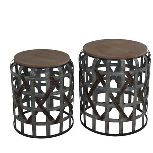 Coosada 2 Piece Nesting Tables