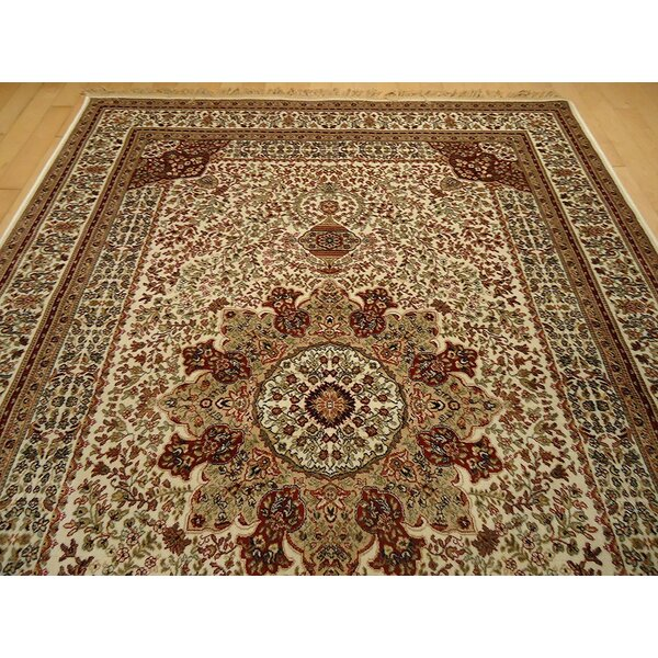 Astoria Grand Shanelle Living Room Hand Knotted Wool Beige Rug Reviews Wayfair