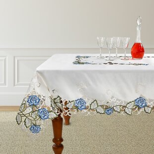 Philip Decorative Rose Tablecloth
