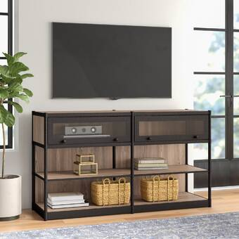 Brayden Studio Aghasi Floating Entertainment Center For Tvs Up To 60 Reviews Wayfair