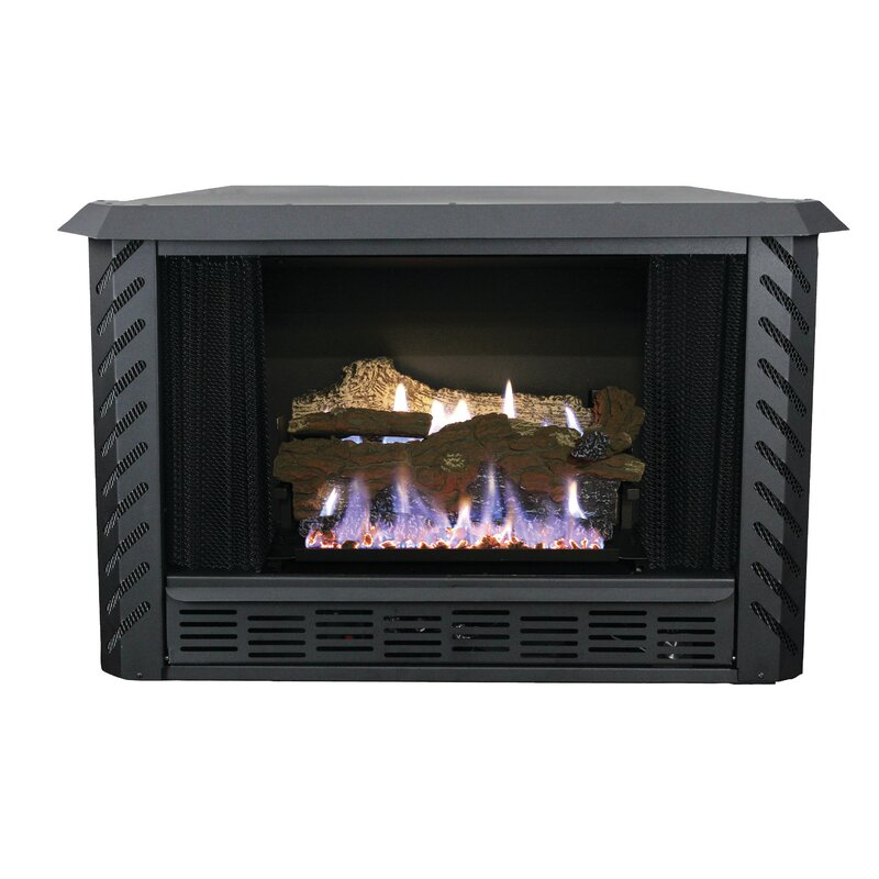Ashley Hearth Vent Free Propane Fireplace Insert Reviews Wayfair