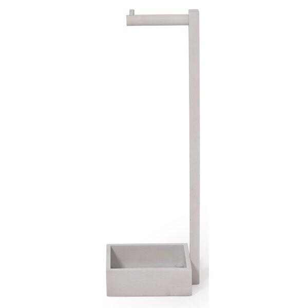 belfry bathroom freistehender toilettenpapierhalter mezza bewertungen wayfairde - Freistehender Toilettenpapierhalter Mit Lagerung
