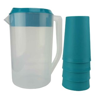 5 Piece Juice 72 Oz. Pitcher Set