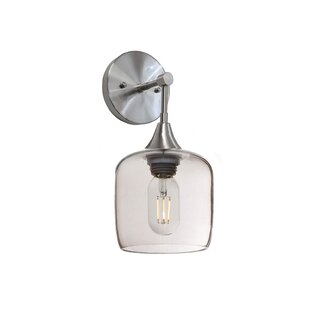 Auguste 1-Light Armed Sconce by Ivy Bronx