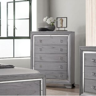 Look for Orrwell 5 Drawer Chest by Everly Quinn