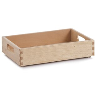 All Purpose Solid Wood Organiser Box By Zeller