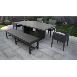 Medley 6 Piece Dining Set with Cushions