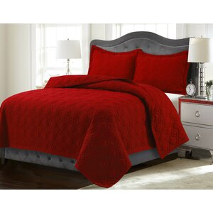 Coalton Solid or Printed Oversized Quilt Set