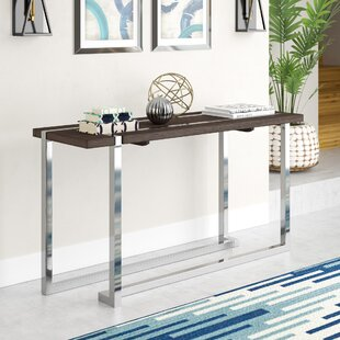 Review Aubuchon Rectangle Console Table By Wade Logan
