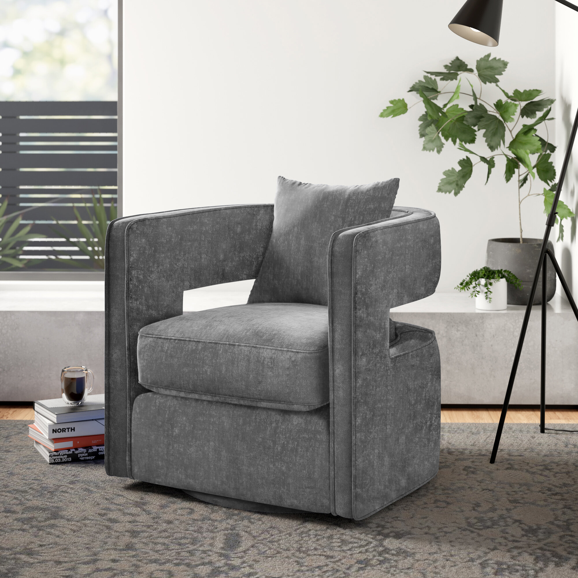 Picture of: Jeremiah Swivel Barrel Chair Reviews