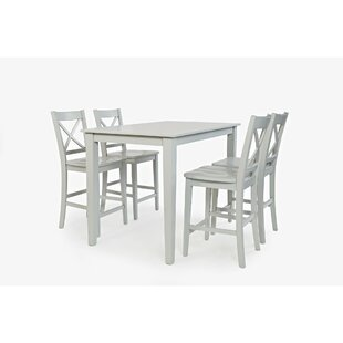 Keanu Counter Height 5 Piece Pub Table Set