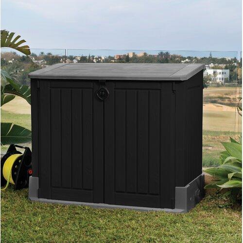 120 L Gartenbox Store It Out Midi aus Kunststoff Keter Farbe: Schwarz / Grau | Garten > Gartenmöbel > Aufbewahrung | Keter