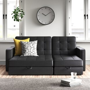 Tiara 3 Seater Fold Out Sofa Bed By Zipcode Design