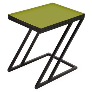 Foreign Affairs Home Decor Moss End Table