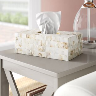 Settlers point Tissue Box Cover ByBeachcrest Home