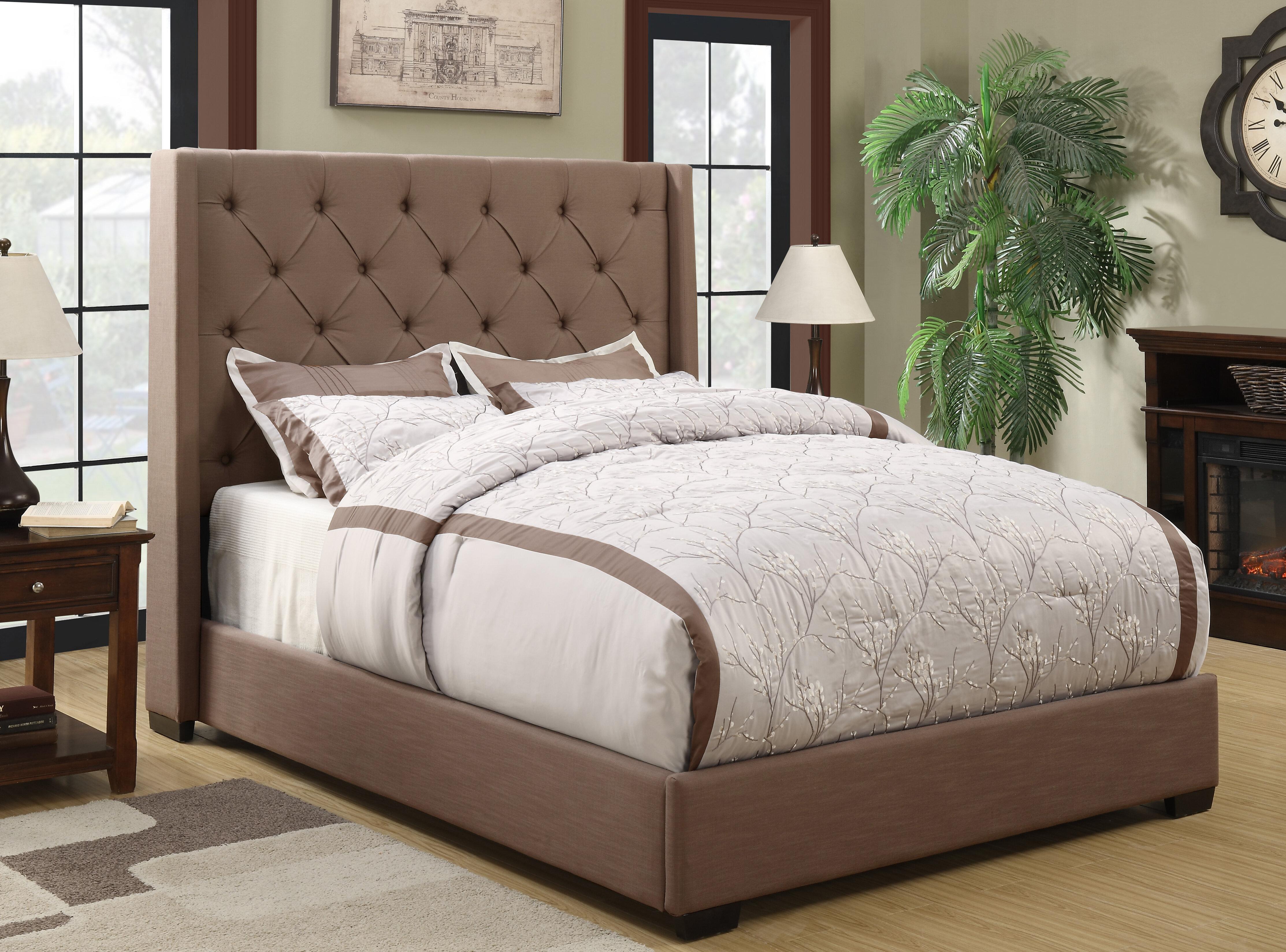 Lark Manor Fares Upholstered Bed U0026 Reviews | Wayfair