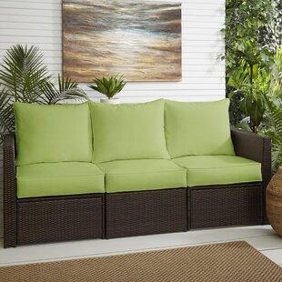 Farmhouse Rustic Zipper Closure Outdoor Furniture Cushions
