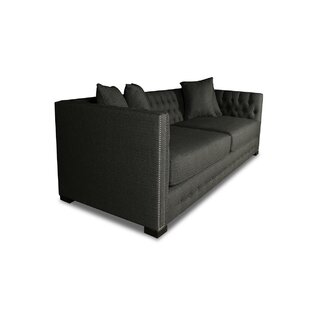 Estevez Plush Deep Sofa by Darby Home Co 2019 Sale