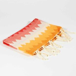 Hudgens Ethnic Natural Hand Towel (Set of 2)