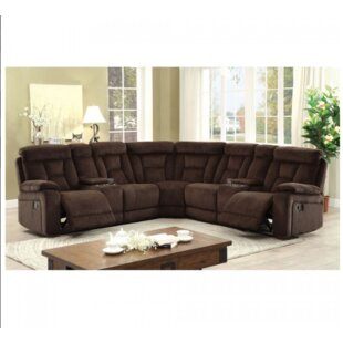 Shop Holmgren Reclining Sectional by Red Barrel Studio