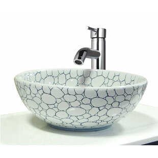 Read Reviews Valbonne Circular Vessel Bathroom Sink By Transolid