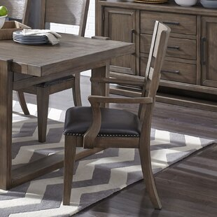 Fiorella Upholstered Dining Chair (Set of 2) Union Rustic