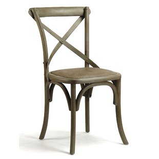 Zentique Parisienne Cafe Solid Wood Dining Chair