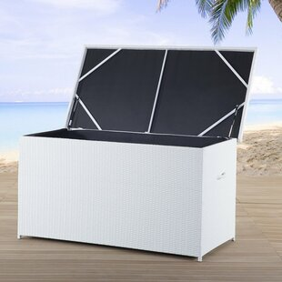 Modena 214 Gallon Wicker Deck Box by Home Loft Concepts