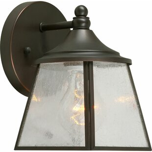 Best Reviews Madeleine 1-Light Outdoor Wall Lantern By Charlton Home