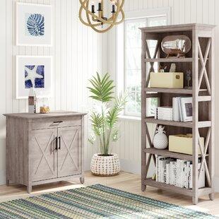 Beachcrest Home Oridatown 2 Piece Desk Office Suite