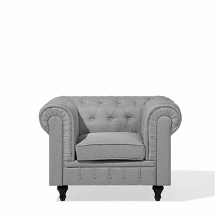 Lefever Chesterfield Chair By Ophelia & Co.