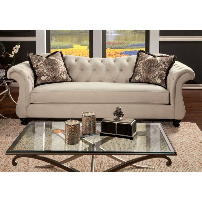 Astonishing Ponce Chesterfield Sofa Pabps2019 Chair Design Images Pabps2019Com