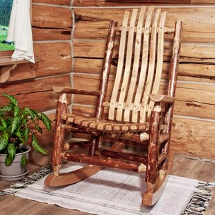 Loon Peak Tustin Rocking Chair