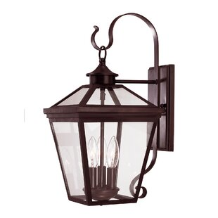 Price comparison Coleg 3-Light Outdoor Wall Lantern By Darby Home Co
