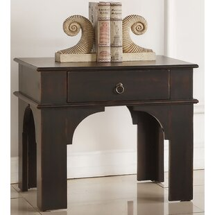 Karol End Table with Storage