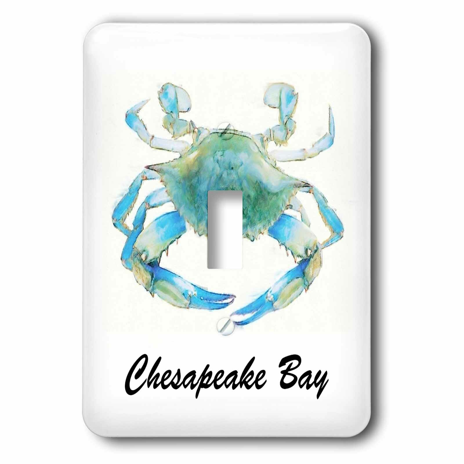 3drose Chesapeake Bay 1 Gang Toggle Light Switch Wall Plate Wayfair