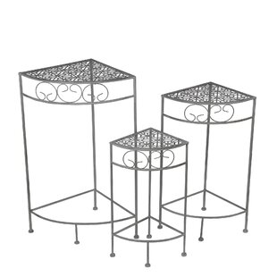 Sartin 3 Piece Corner Plant Stand by Alcott Hill