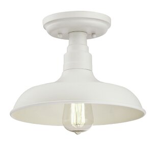 Stephine 1-Light LED Semi-Flus..