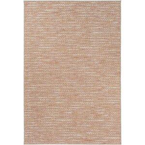 Amelia Brown/Pink Indoor/Outdoor Area Rug