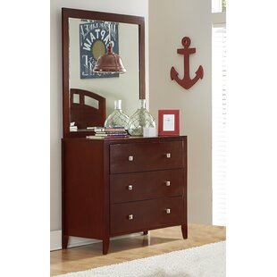 Viv + Rae Granville 3 Drawer Chest with Mirror