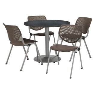 5 Piece Dining Set by KFI Seating #1
