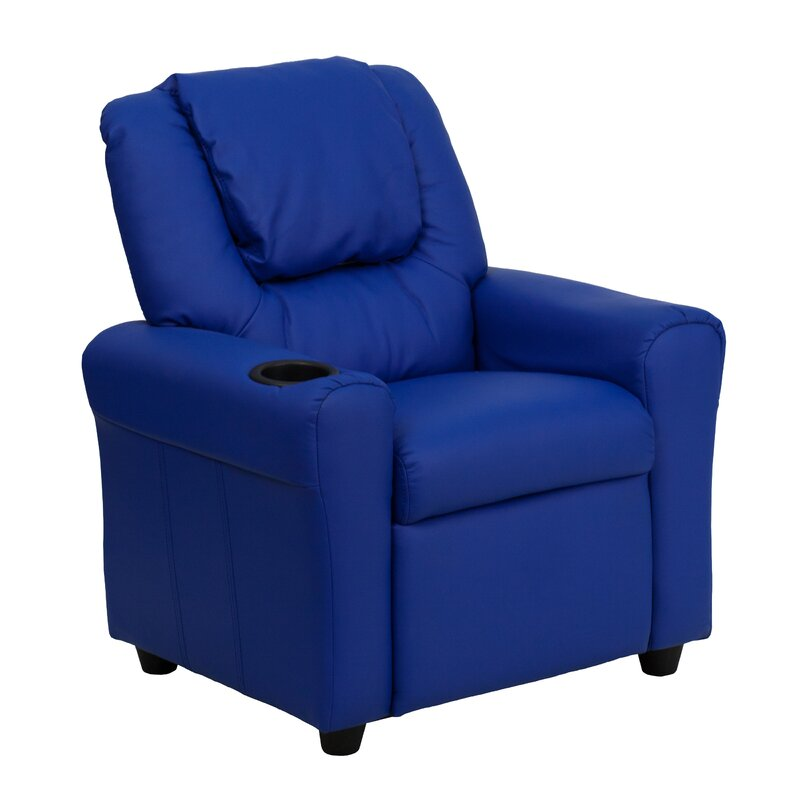Candy Kids Recliner with Cup Holder  sc 1 st  Wayfair & Zoomie Kids Candy Kids Recliner with Cup Holder \u0026 Reviews | Wayfair islam-shia.org