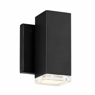 Top Reviews Forst LED Outdoor Wall Sconce By Orren Ellis