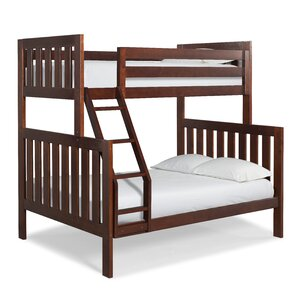 Lakecrest Twin over Full Bunk Bed by Canwood Furniture