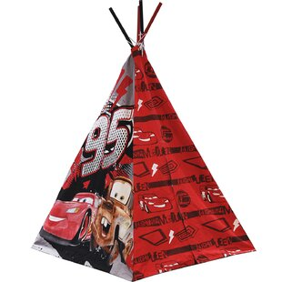 Disney Cars Play Teepee with Carrying Bag by Idea Nuova