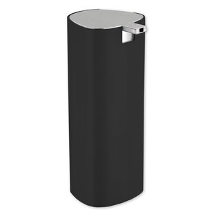 Stainless Steel Cylinder Soap Dispenser ByHome Basics