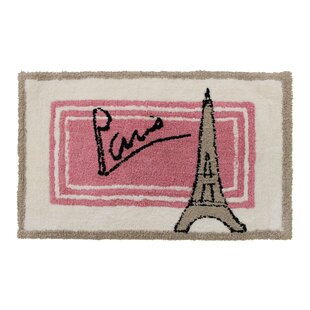 Paris Bath Rug by Sherry Kline 2019 Sale